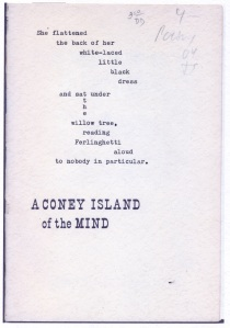 Reading A Coney Island of the Mind